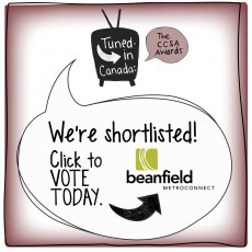 WE'RE SHORTLISTED GRAPHIC BEANFIELD